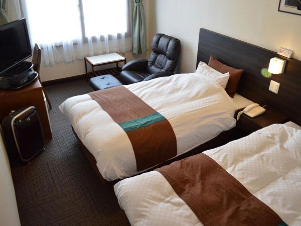 ホテル大阪屋の客室(ツイン